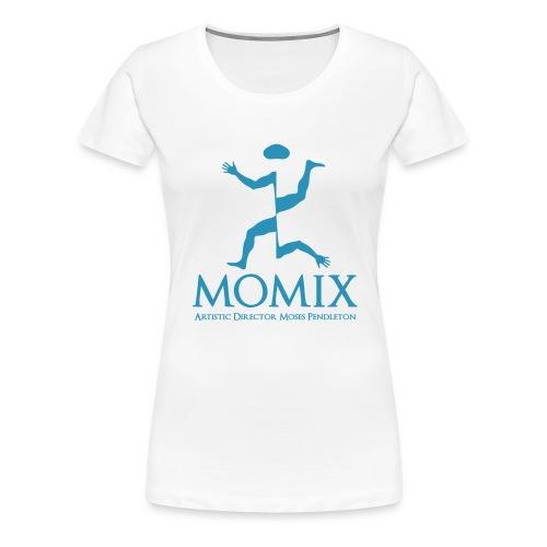MomixLogo Back - Maglietta Premium da donna