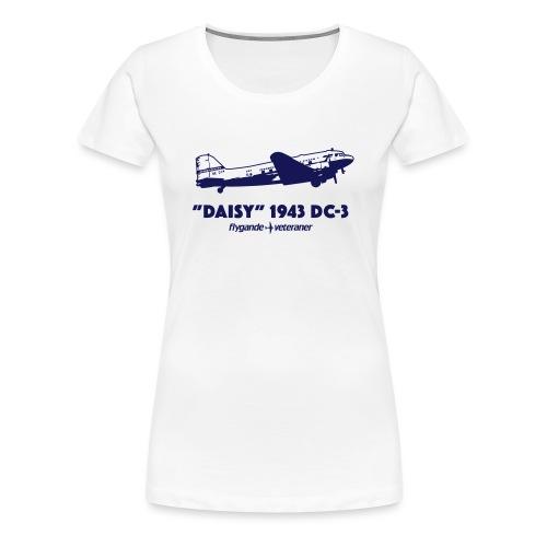 Daisy Flyby 1 - Premium-T-shirt dam