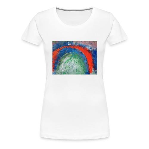 NACH OBEN - Frauen Premium T-Shirt