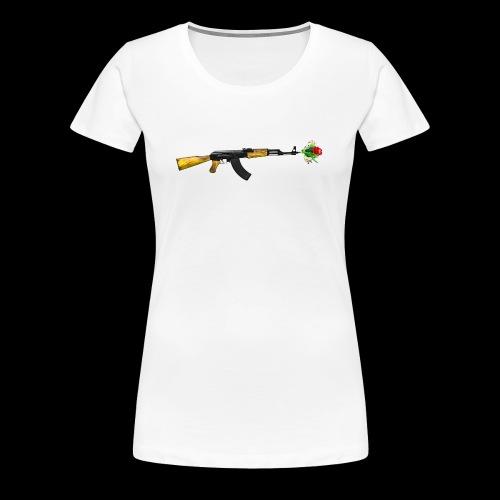 AKFLOWER - Frauen Premium T-Shirt