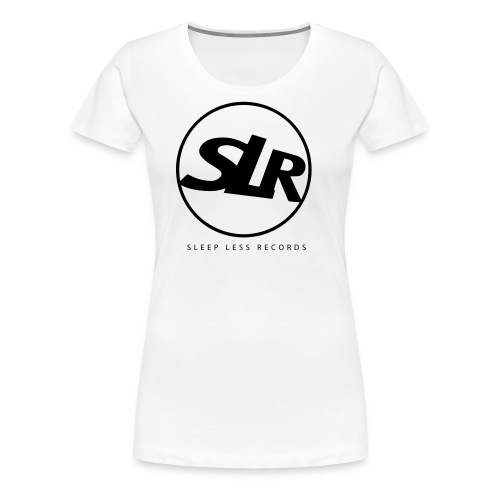 Sleep Less Generation Tee - White Cotton - Women's Premium T-Shirt