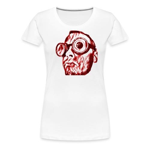 Face Tegner Red Grande - Dame premium T-shirt