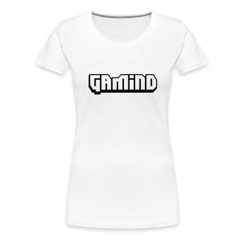 Gamind_Noir - T-shirt Premium Femme