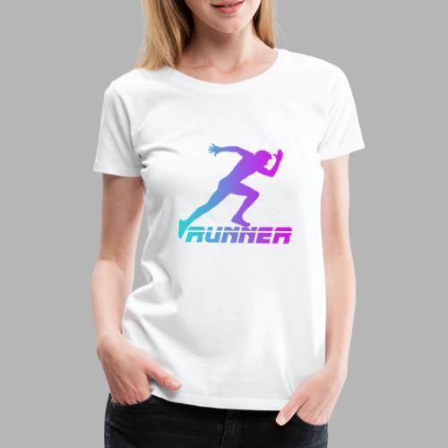Runner - T-shirt Premium Femme