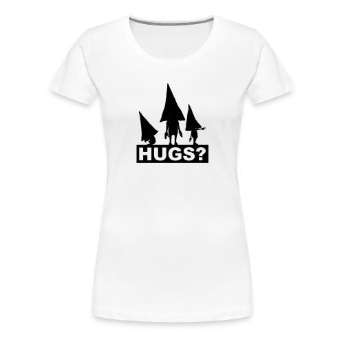 Hugs? - Frauen Premium T-Shirt