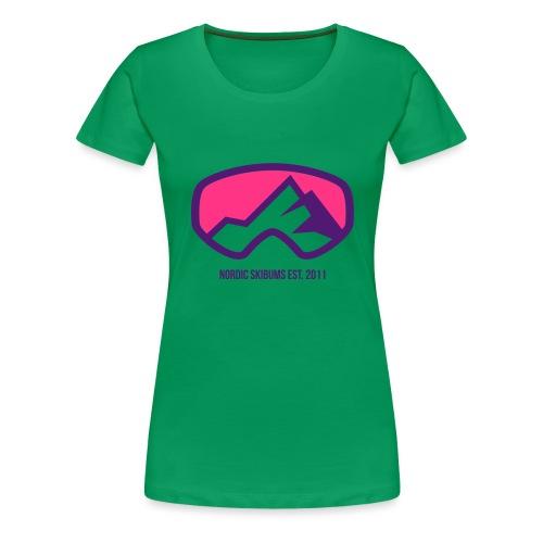 Nordic skibums original - Women's Premium T-Shirt