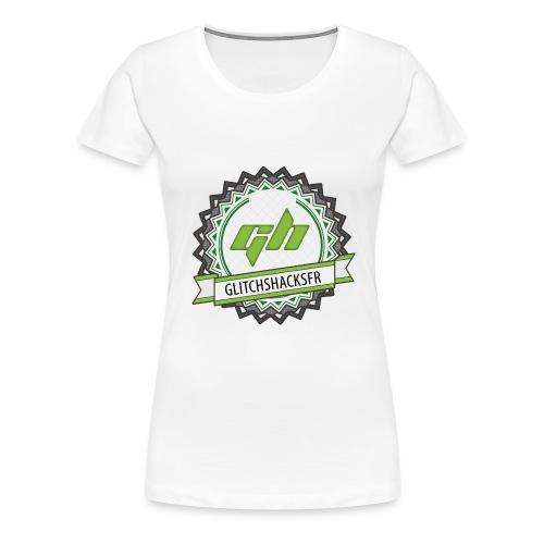 GlitchsHacksFR HD - T-shirt Premium Femme