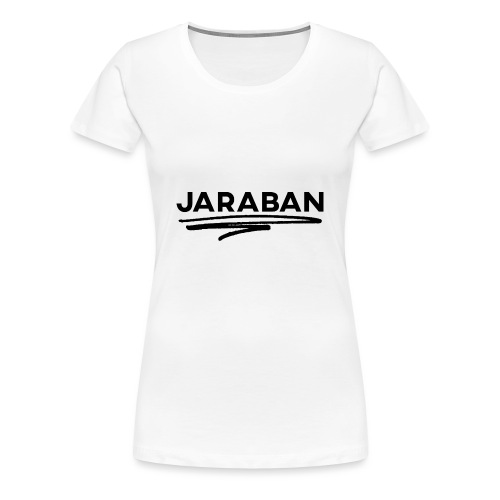 Scribble (Black) - Women's Premium T-Shirt