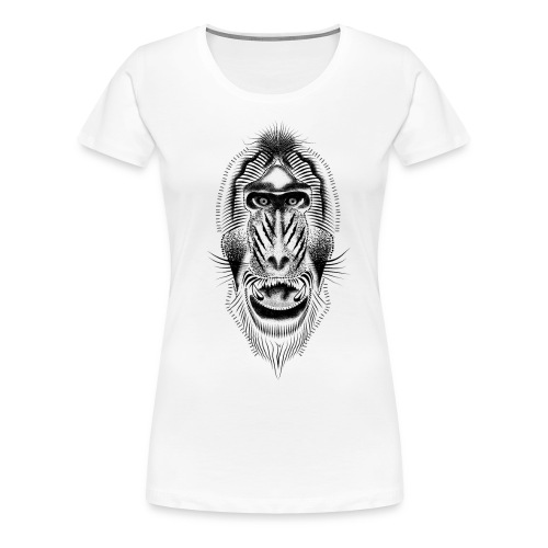 mandrill tattoo - Women's Premium T-Shirt