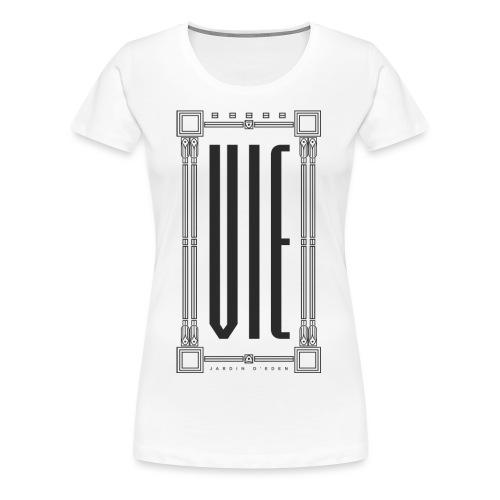 """Jardin d'Eden """"Ville Natale"""" Vienna - Frauen Premium T-Shirt"""