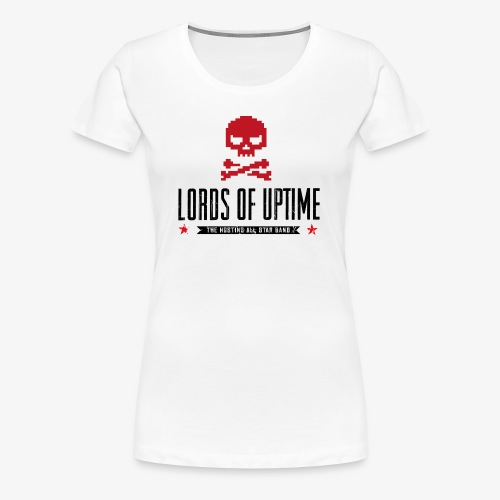 Lords of Uptime black - Frauen Premium T-Shirt