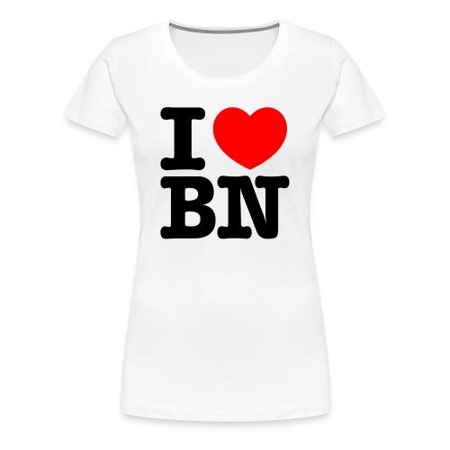 I love Bonn | I love BN - Frauen Premium T-Shirt
