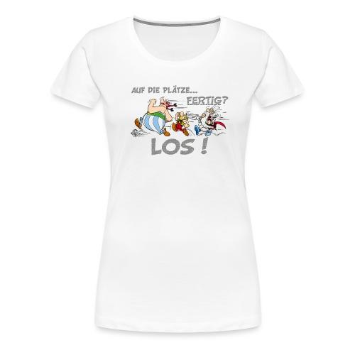 Asterix Obelix Auf die Plätze... Fertig? Los! - T-shirt Premium Femme