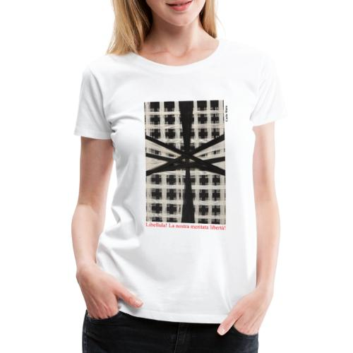 CARLA MURA X iorestoacasaArtistiUniti - Maglietta Premium da donna