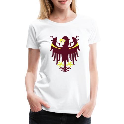 Wappen des Landes Südtirol - Frauen Premium T-Shirt