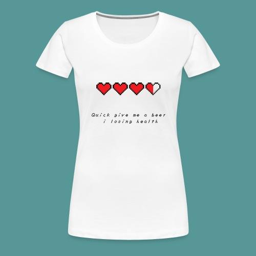 The Legend of Drunk - Vrouwen Premium T-shirt