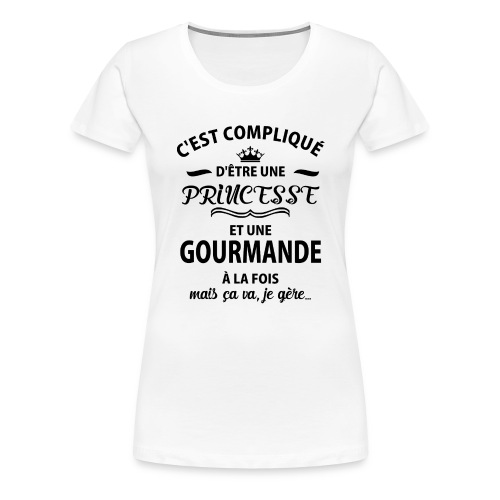 cxvxg - T-shirt Premium Femme