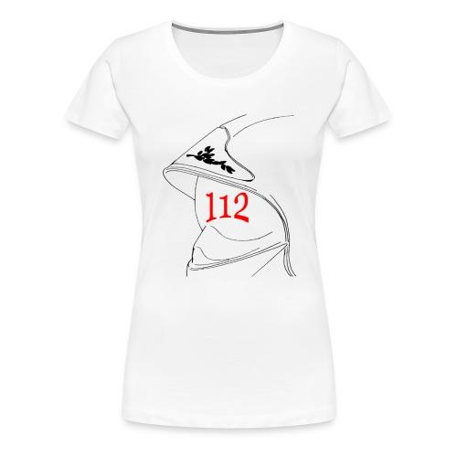 Casque 112 - T-shirt Premium Femme