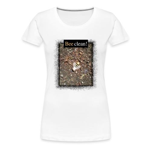Bee clean - Frauen Premium T-Shirt