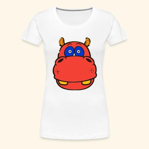 Flusspferd - Frauen Premium T-Shirt