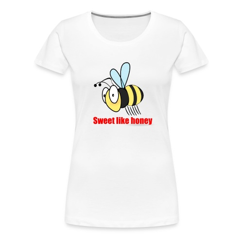 Sweet like honey - Biene - Frauen Premium T-Shirt