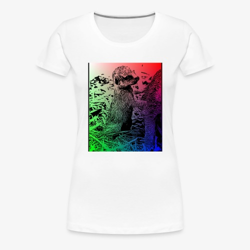 mangostabebe - Camiseta premium mujer