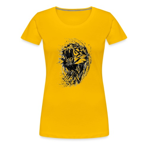 villikissa kuva - Naisten premium t-paita
