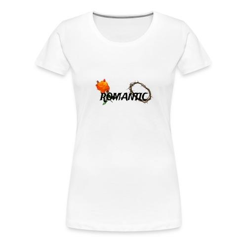 Rosenromantik - Frauen Premium T-Shirt