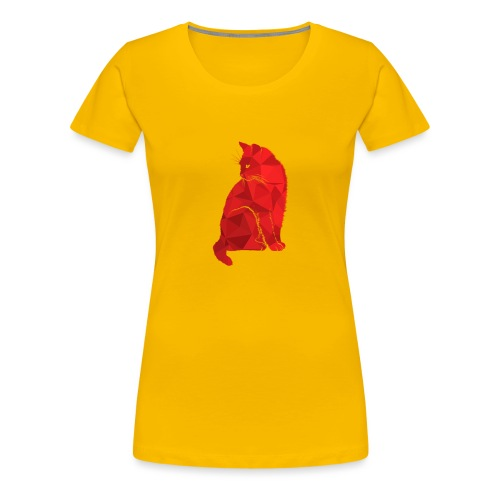 Cat - Frauen Premium T-Shirt