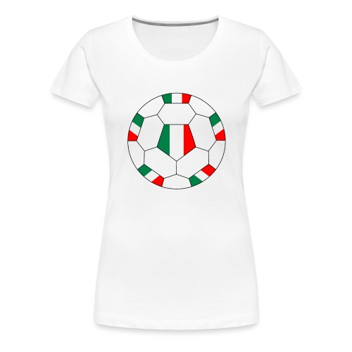 Italien Fußball - Frauen Premium T-Shirt
