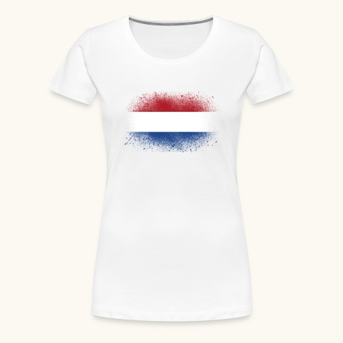 Drapeau hollandais, cadeau drôle - T-shirt Premium Femme