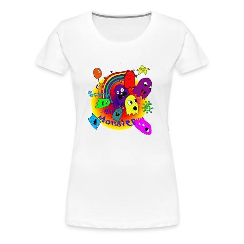 minimonsters - Frauen Premium T-Shirt