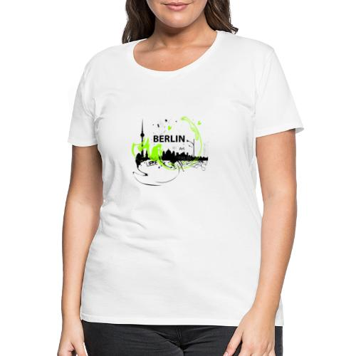 I love Berlin Designer T Shirt - Frauen Premium T-Shirt