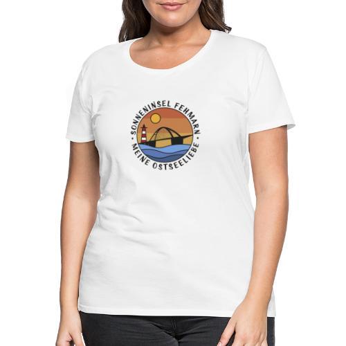 Sonneninsel Fehmarn - Frauen Premium T-Shirt