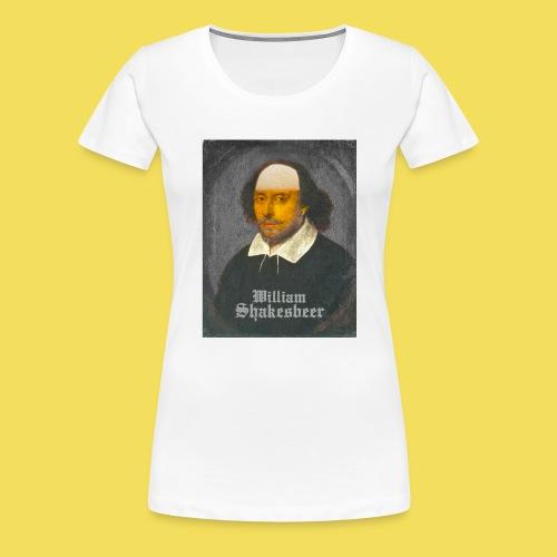 Shakesbeer - groß - Frauen Premium T-Shirt