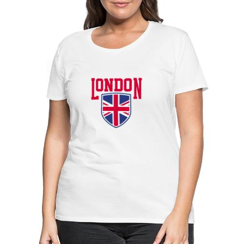 London Souvenir - London Wappen Flagge - Frauen Premium T-Shirt