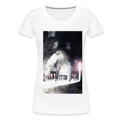 Parliment Hall in Edinburgh Castle - Women's Premium T-Shirt