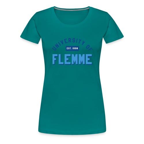 UniversityOfFlemme2 png - T-shirt Premium Femme