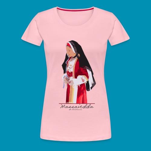 Massaiedda png - Maglietta Premium da donna