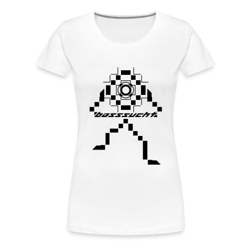 Basssucht - Frauen Premium T-Shirt