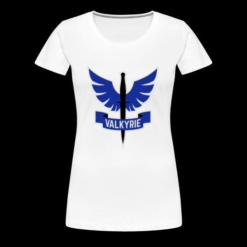 Blue Valkyrie Logo - Women's Premium T-Shirt