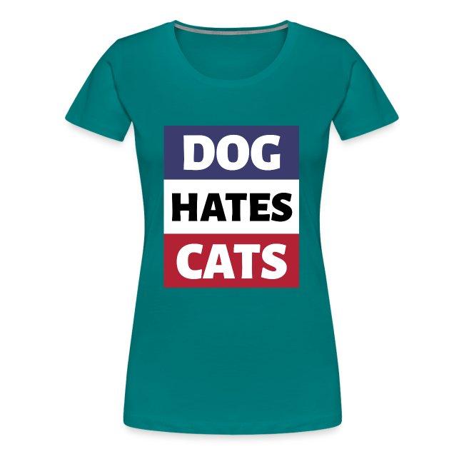 Dog Hates Cats