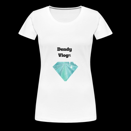 DendyVlogs Diamond Merch - Women's Premium T-Shirt