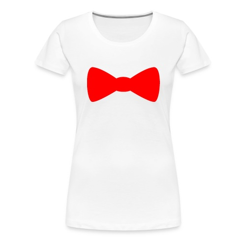 Red Bowtie - Women's Premium T-Shirt