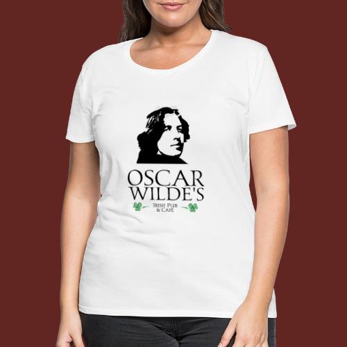 Logo Oscar Wilde IrishPub - Frauen Premium T-Shirt