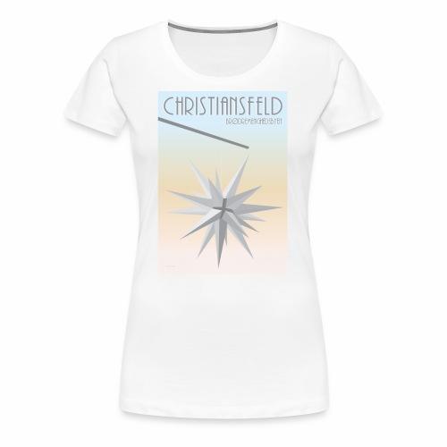christiansfeld brødremeninghedsbyen - Dame premium T-shirt