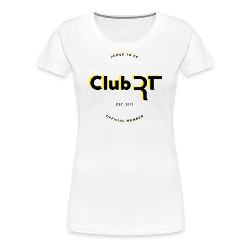 T-shirt Club Rt, A.A. 2017 - Maglietta Premium da donna