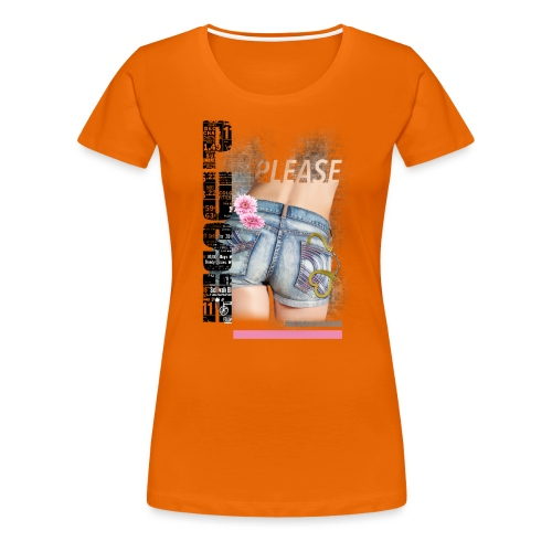 backgirl - Maglietta Premium da donna
