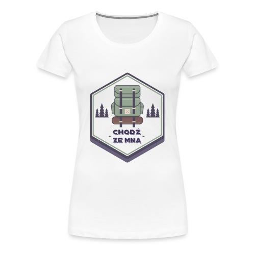 Górska wycieczka - Koszulka damska Premium