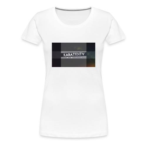 Karatentv - Frauen Premium T-Shirt